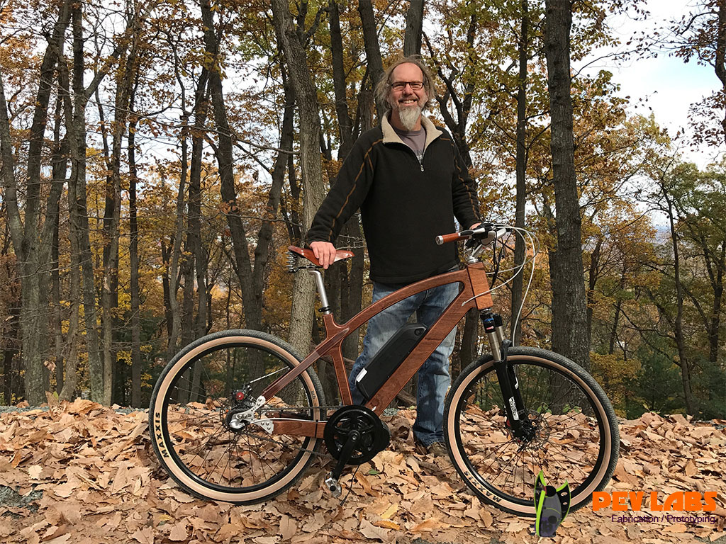 Brian Williford Makes Things Such as This Wooden Bicycle