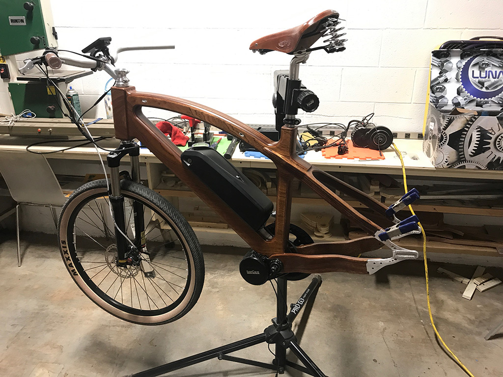 Assembling Sapelle E-Bike Prototype
