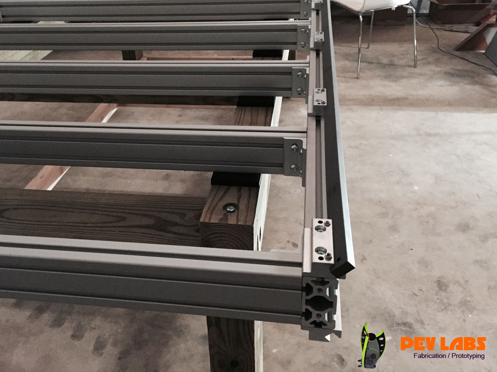 CNC Cold Rolled Steel Gantry Rail