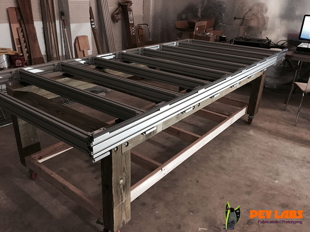 CNC Extruded Aluminum Framing Steel Guide Rail