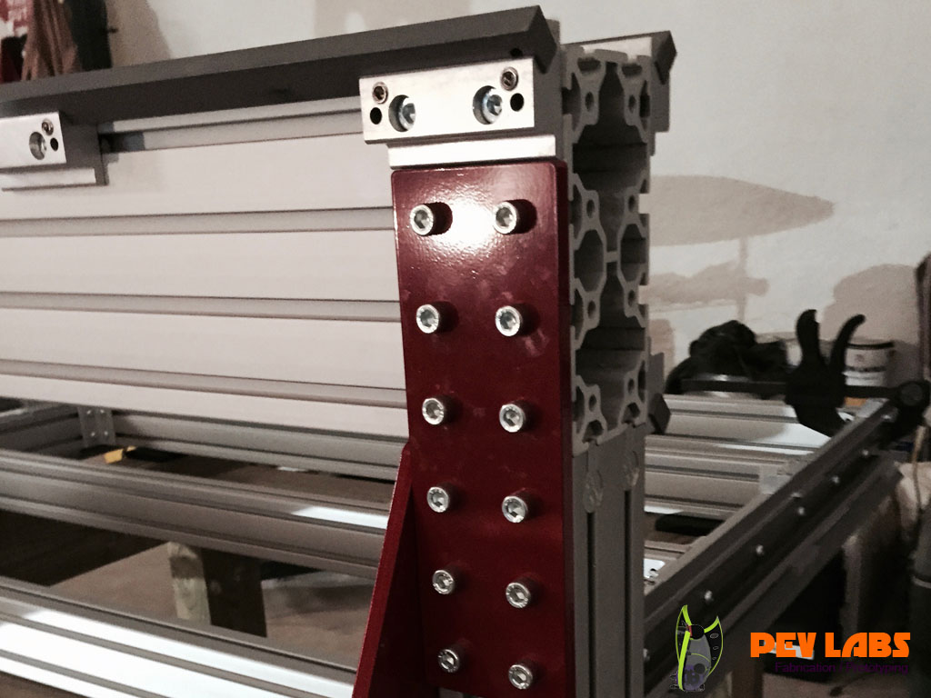 CNC Extruded Aluminum Gantry Bracket