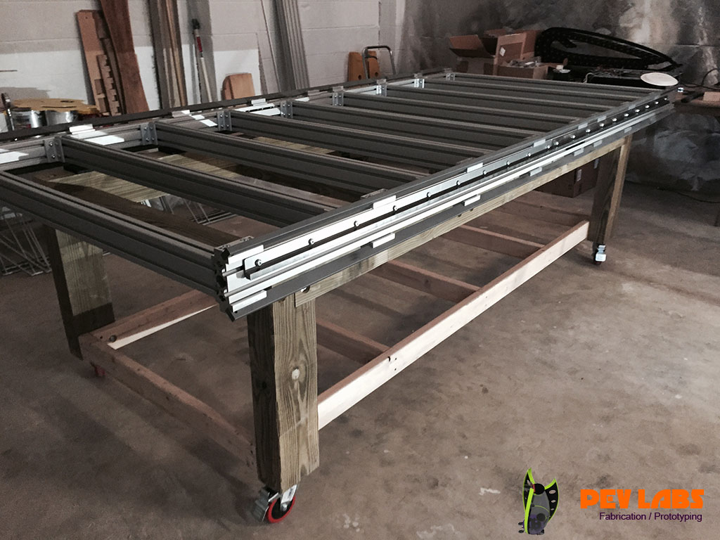 CNC Steel Guide Rails Top and Bottom