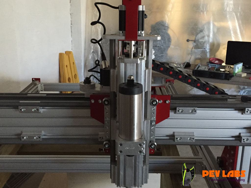 CNC Mounted on Z-Axis