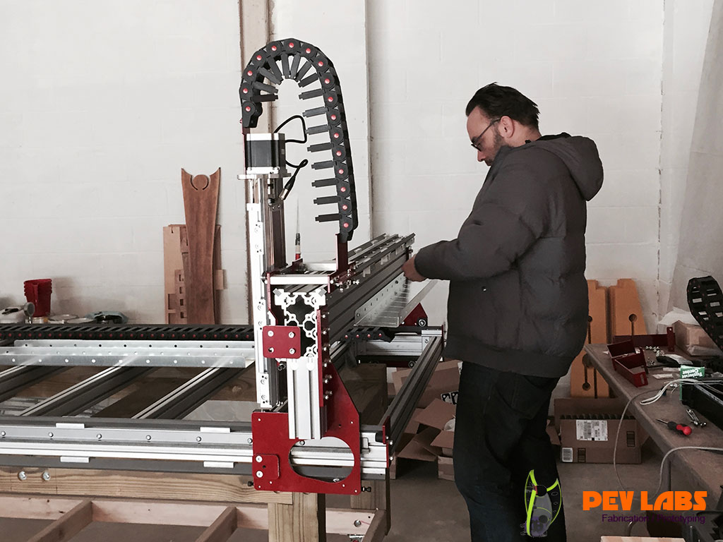 Installing CNC Drag Chains