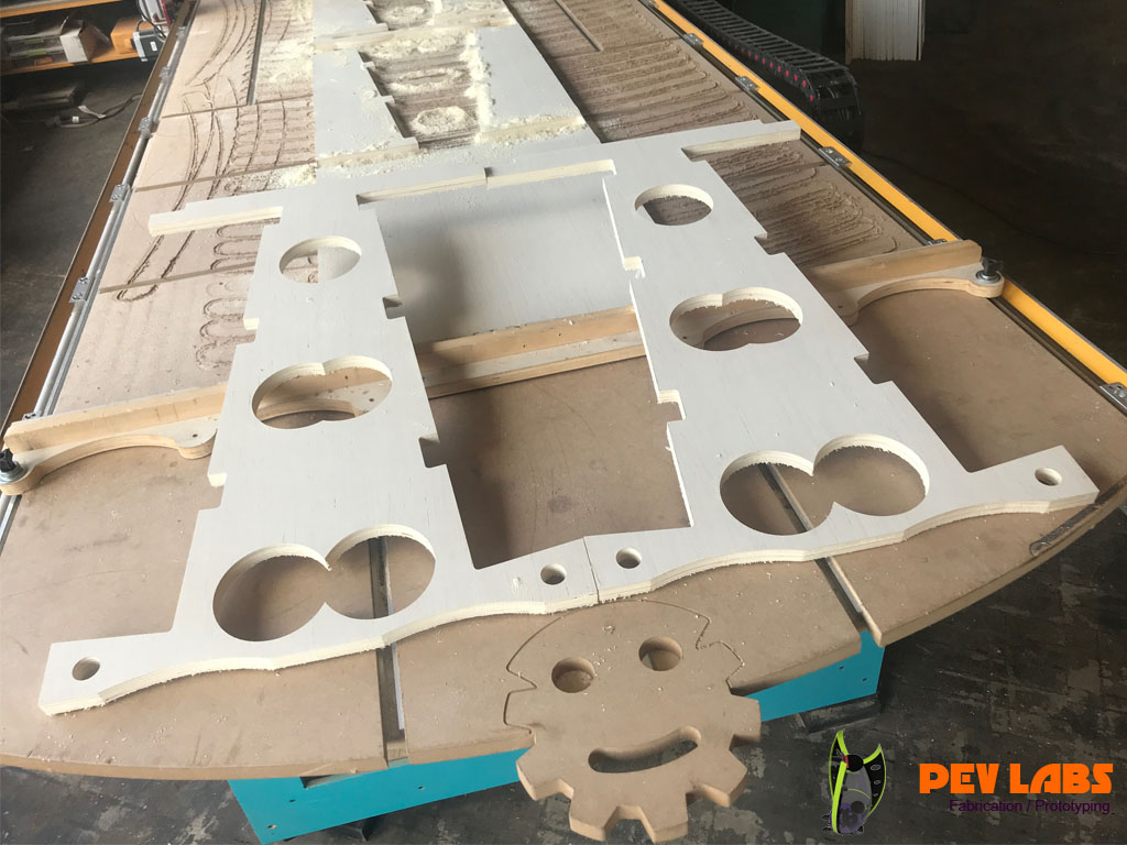 Making Parts From Plywood