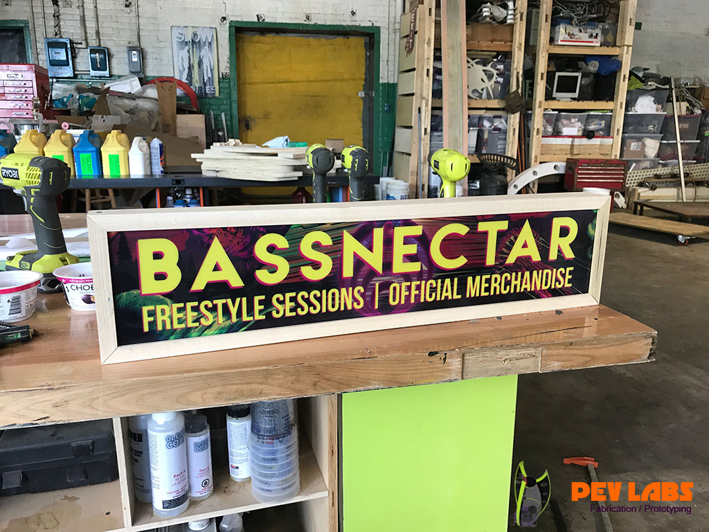 Bassnectar Display Light Boxes
