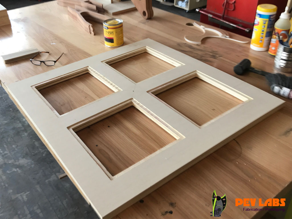 Display Case Ceiling Light Panel Frame