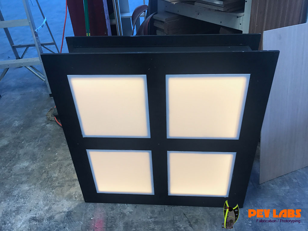 Display Case Ceiling Light Panels
