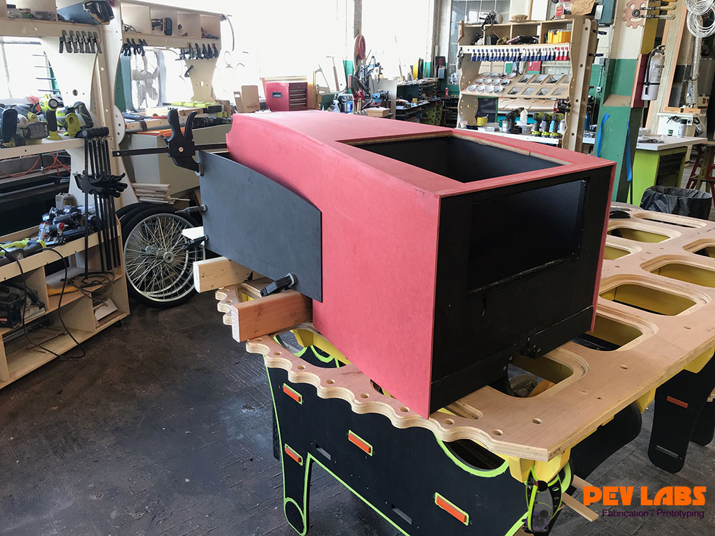 Custom ForesCOLOR Kiosk Fabrication