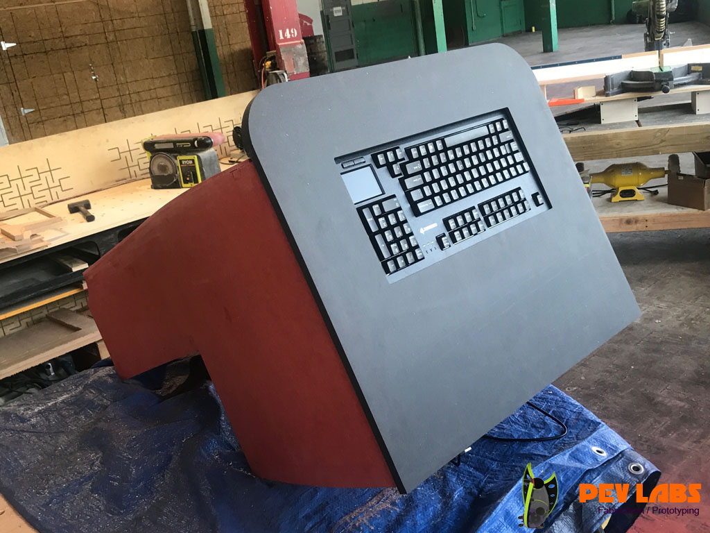 Color Core MDF Kiosk Project