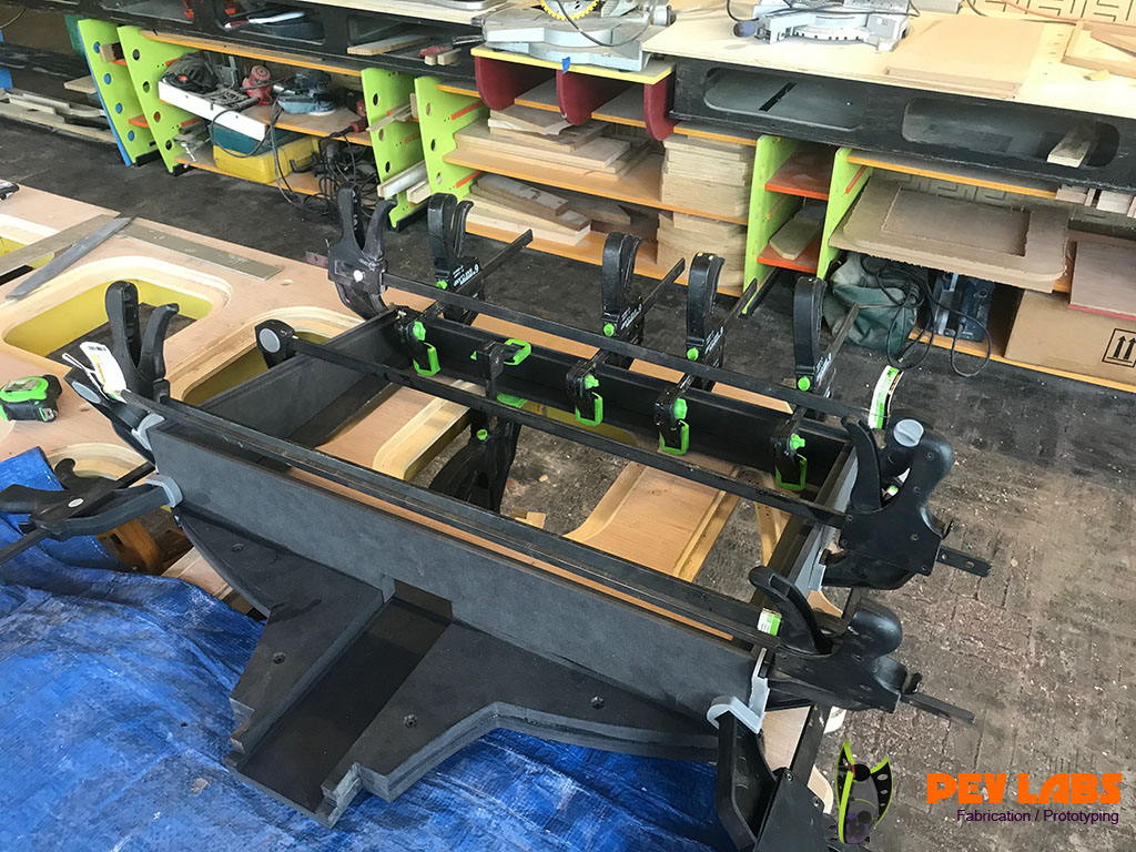 Clamping Monitor Shell Assembly