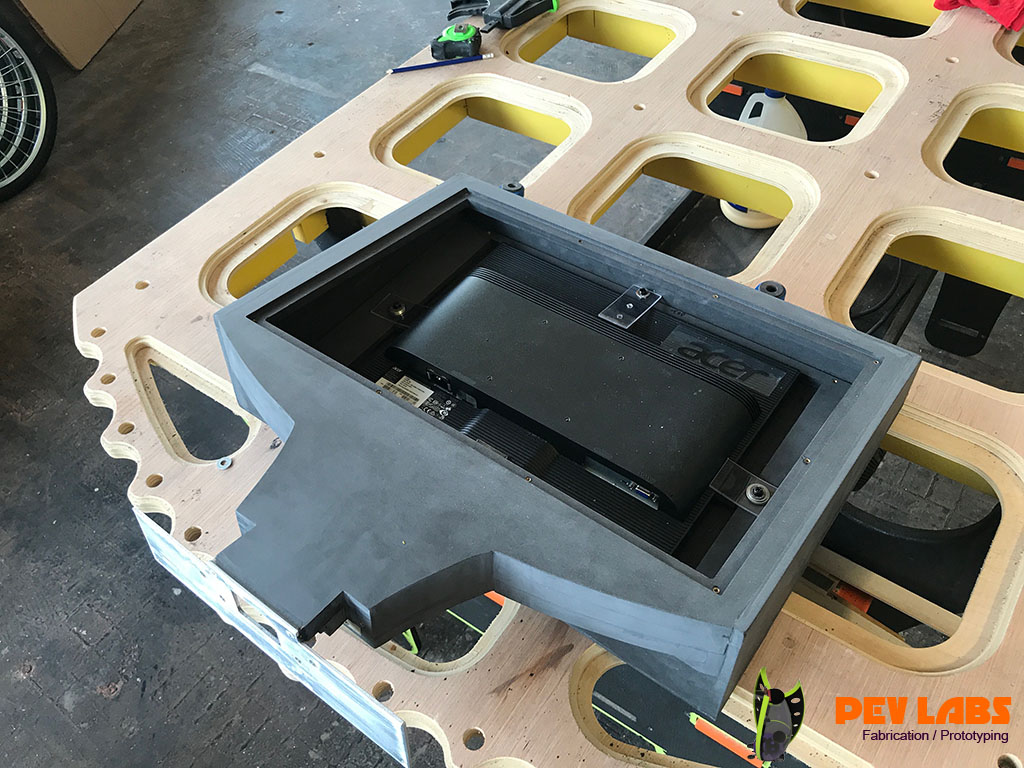 Through-Core MDF Kiosk Parts
